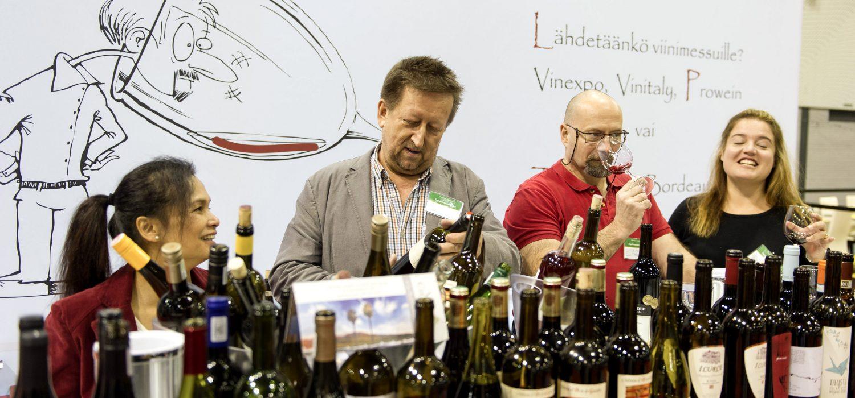 Viinimessuille