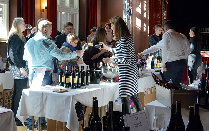 Tampere Wine Fest Olympiassa 2018
